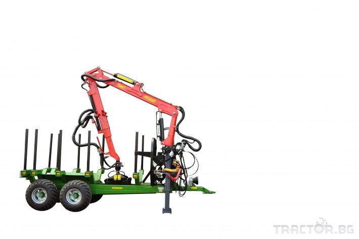 Ремаркета и цистерни Ремаркета PRONAR - Промоция 9 - Трактор БГ