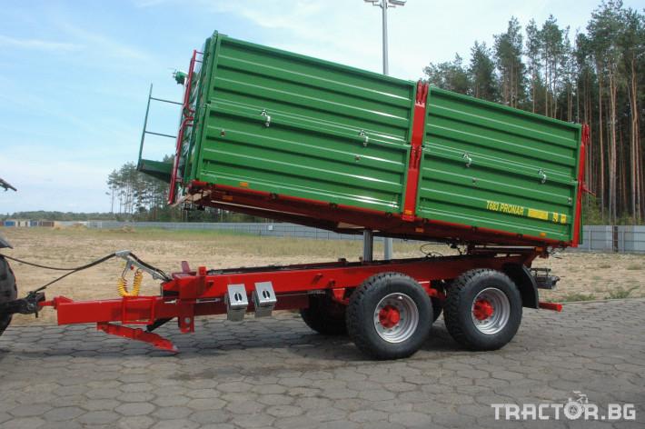 Ремаркета и цистерни Ремаркета PRONAR - Промоция 10 - Трактор БГ