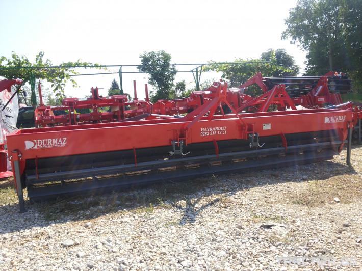 Мулчери Сечка DURMAZ за надробяване на слънчогледови стъбла 2 - Трактор БГ