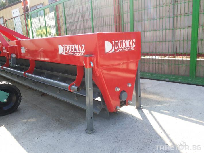 Мулчери Сечка DURMAZ за надробяване на слънчогледови стъбла 3 - Трактор БГ