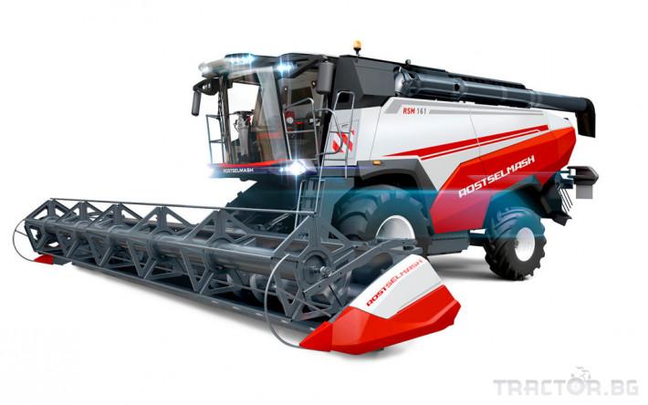 Комбайни Rostselmash RSM 161 1 - Трактор БГ