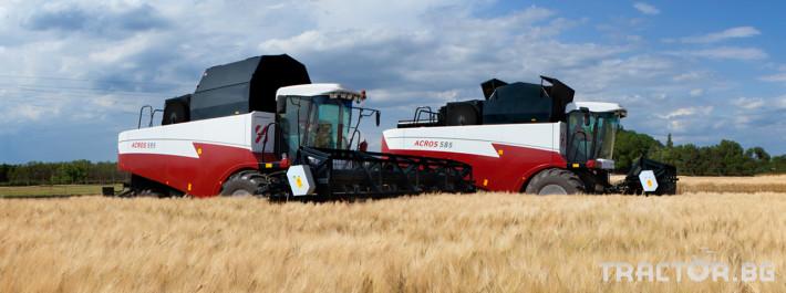 Комбайни Rostselmash ACROS 595 Plus 7 - Трактор БГ