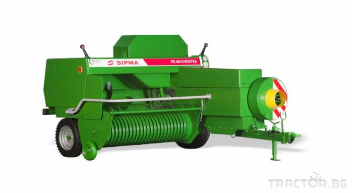 Сламопреси Sipma Kostka 4100 0 - Трактор БГ