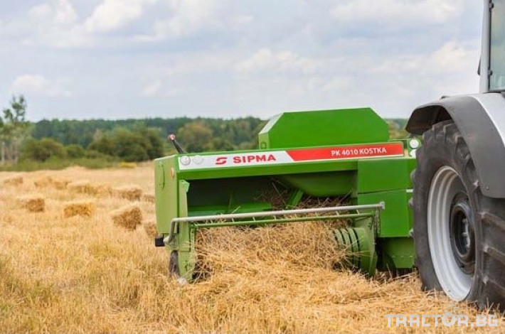 Сламопреси Sipma Kostka 4100 2 - Трактор БГ