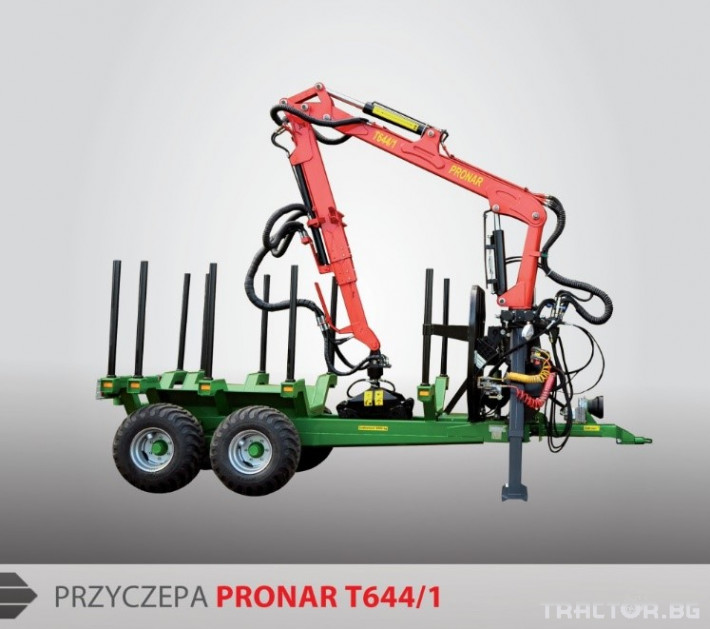 Машини за дърводобив PRONAR, T644/1 2 - Трактор БГ