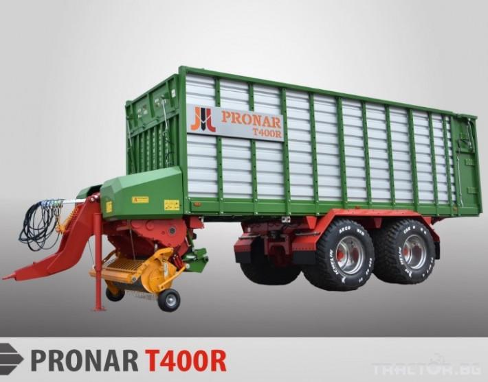 Ремаркета и цистерни Pronar T400R 1 - Трактор БГ