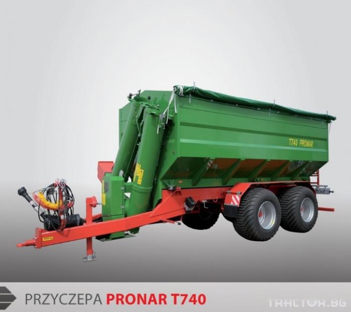 Ремаркета и цистерни Pronar Т740 § Т743 4