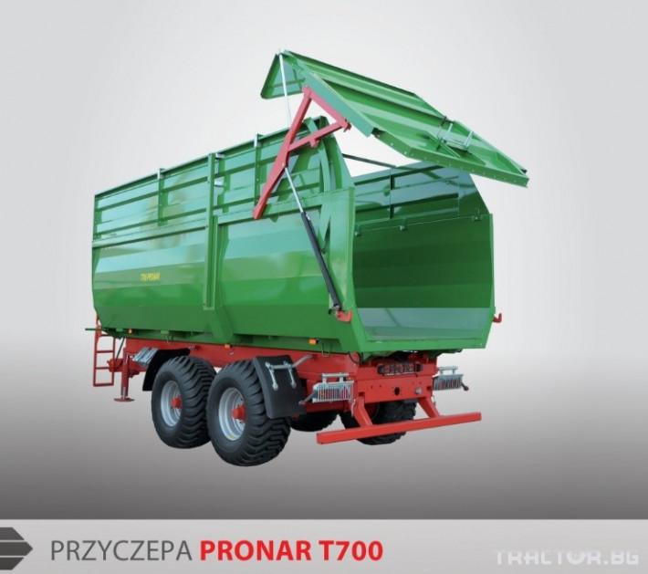 Ремаркета и цистерни МОНОЛИТНИ РЕМАРКЕТА Pronar Т679 § Т700 1 - Трактор БГ