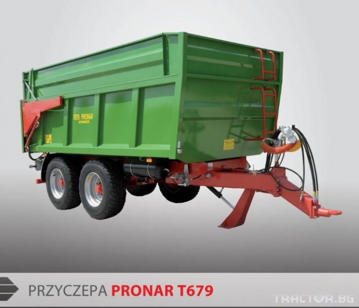 Ремаркета и цистерни МОНОЛИТНИ РЕМАРКЕТА Pronar Т679 § Т700 3 - Трактор БГ