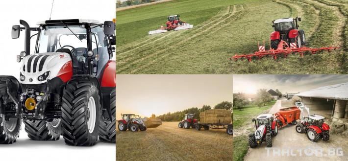 Трактори Steyr PROFI CLASSIC 2 - Трактор БГ