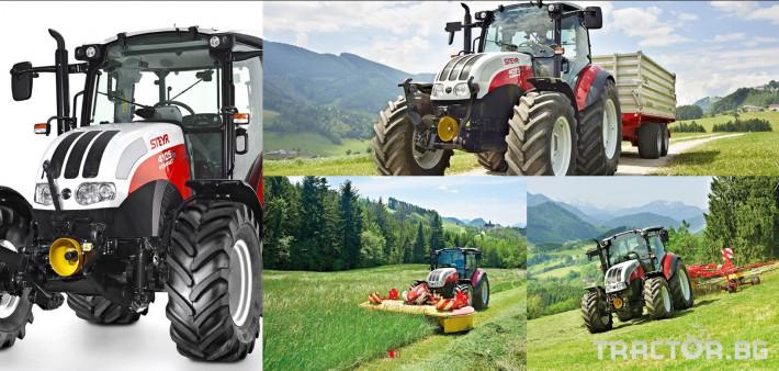 Трактори Steyr Kompakt 3 - Трактор БГ
