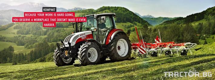 Трактори Steyr Kompakt 13 - Трактор БГ