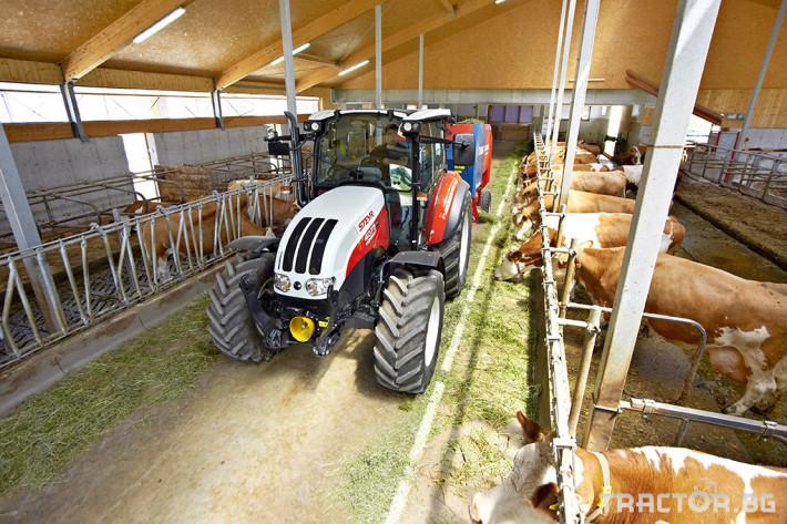 Трактори Steyr Kompakt 4 - Трактор БГ