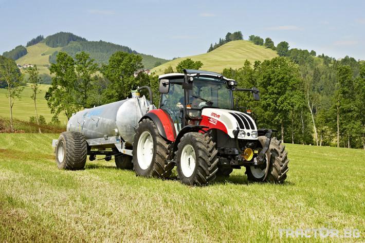 Трактори Steyr Kompakt 6 - Трактор БГ