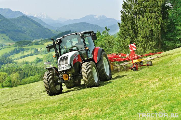 Трактори Steyr Kompakt 8 - Трактор БГ