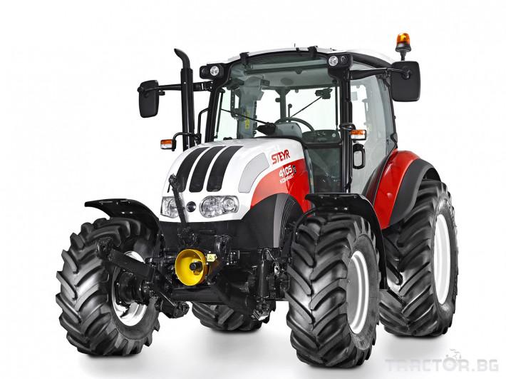 Трактори Steyr Kompakt 0 - Трактор БГ