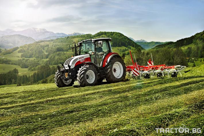 Трактори Steyr Kompakt 9 - Трактор БГ
