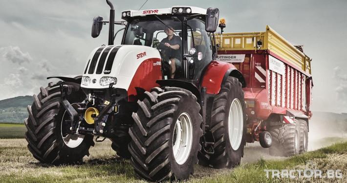 Трактори Steyr CVT 2 - Трактор БГ