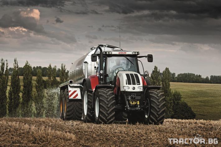 Трактори Steyr CVT 6 - Трактор БГ