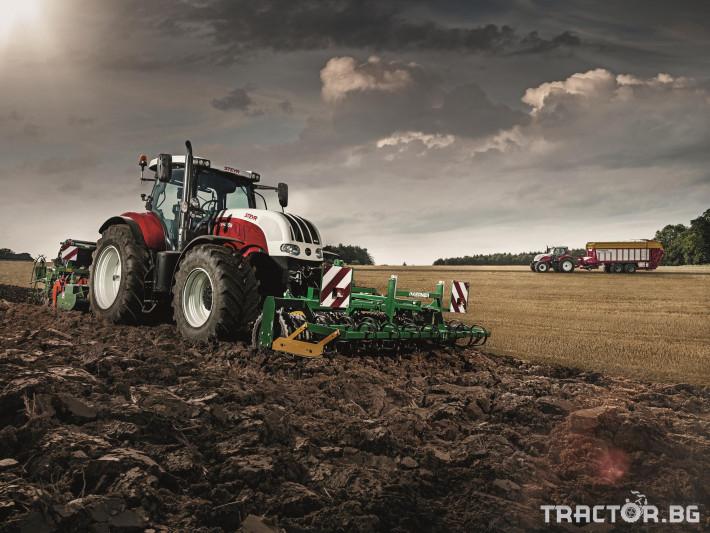 Трактори Steyr CVT 4 - Трактор БГ