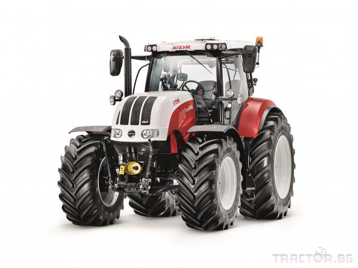 Трактори Steyr CVT 9 - Трактор БГ