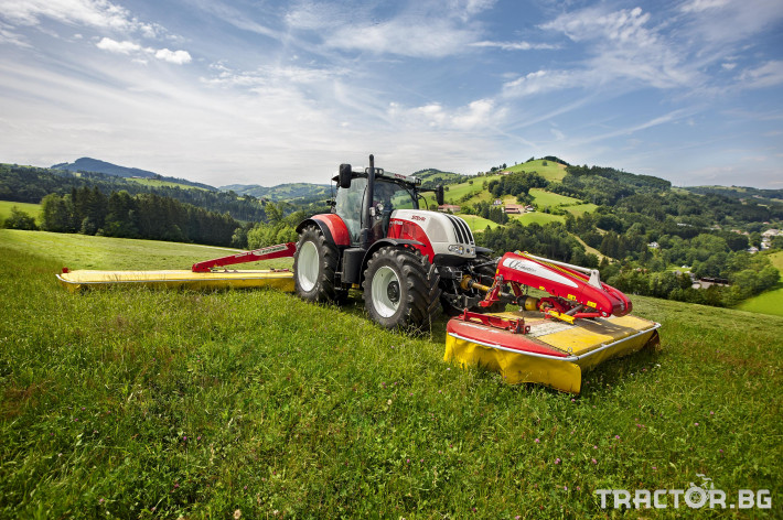 Трактори Steyr CVT 5 - Трактор БГ