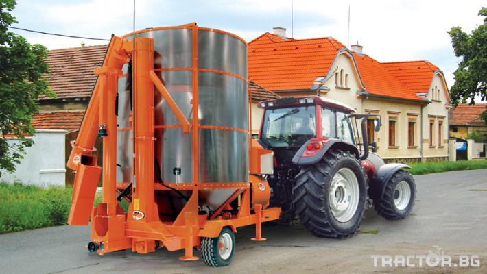 Обработка на зърно AGREX - СУШИЛНИ 0 - Трактор БГ