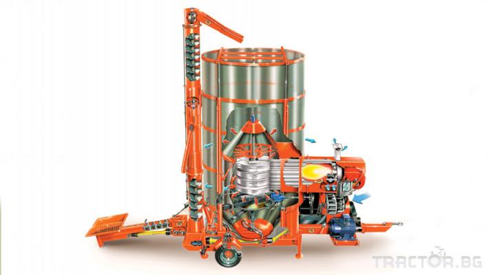 Обработка на зърно AGREX - СУШИЛНИ 1 - Трактор БГ