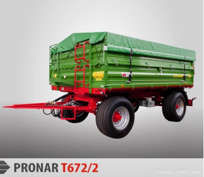 Ремаркета и цистерни Pronar T672/2 0