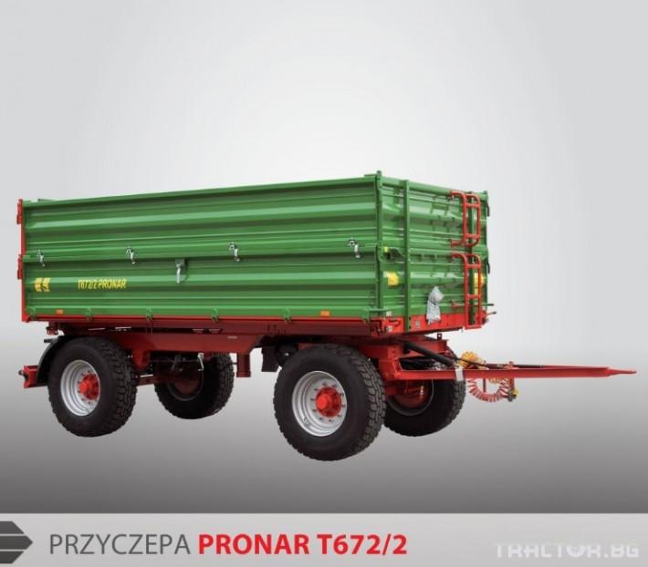 Ремаркета и цистерни Pronar T672/2 1