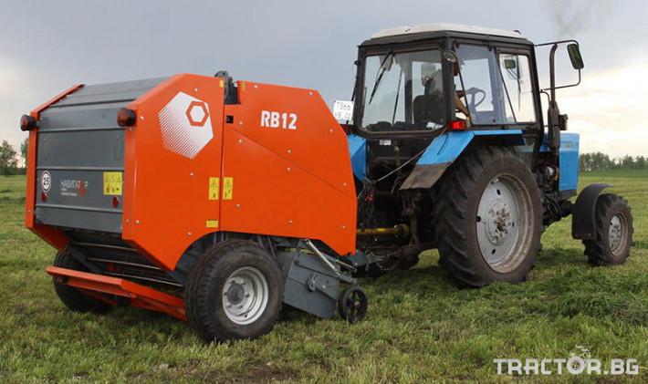 Сламопреси Wolagri NAVIGATOR RB 12 3 - Трактор БГ