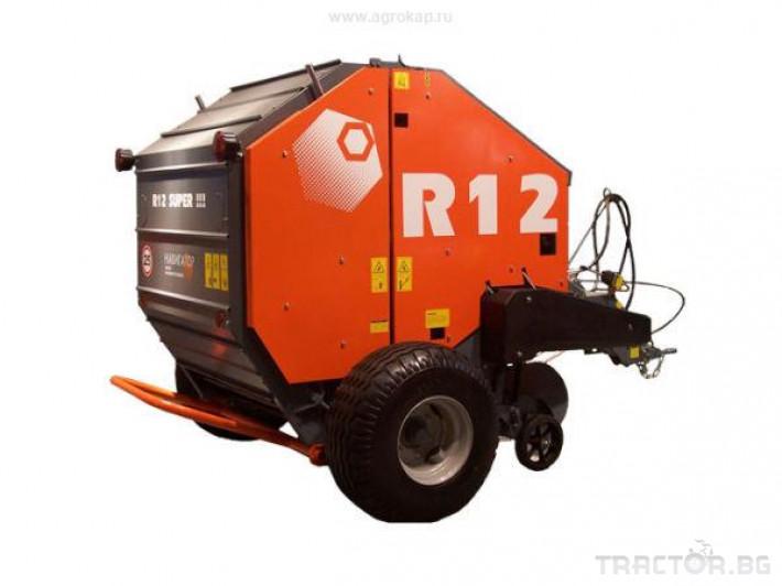 Сламопреси Wolagri NAVIGATOR RB 12 4 - Трактор БГ