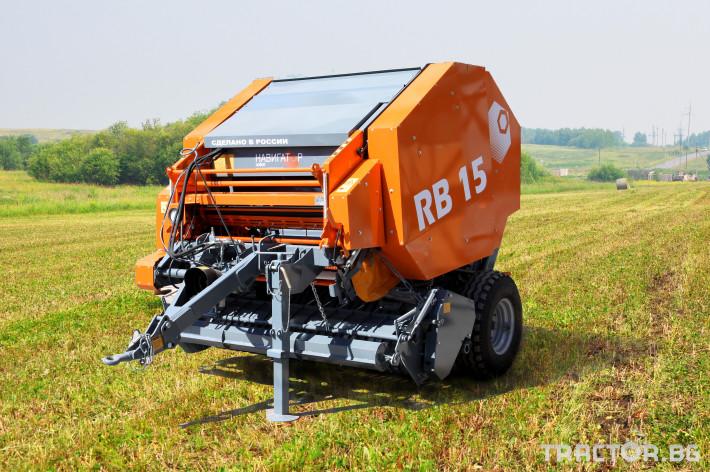 Сламопреси Wolagri NAVIGATOR RB 12 0 - Трактор БГ