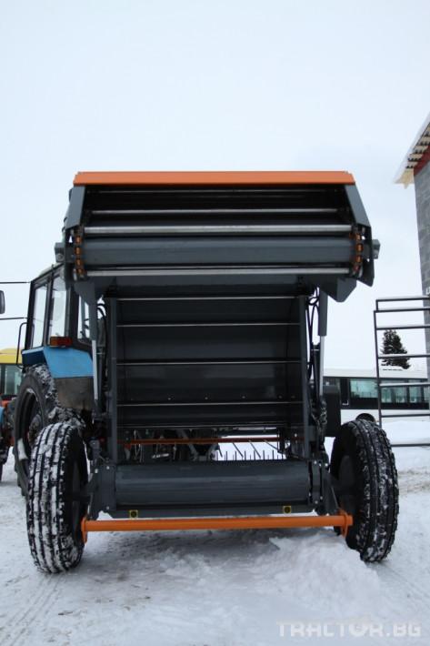 Сламопреси Wolagri NAVIGATOR JB 12 NW 4 - Трактор БГ