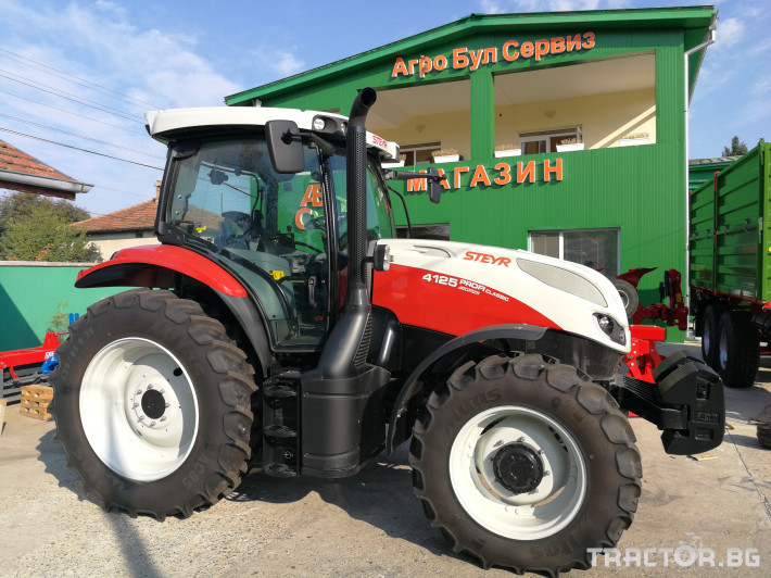 Трактори Steyr Profi 4125 Clasic 3