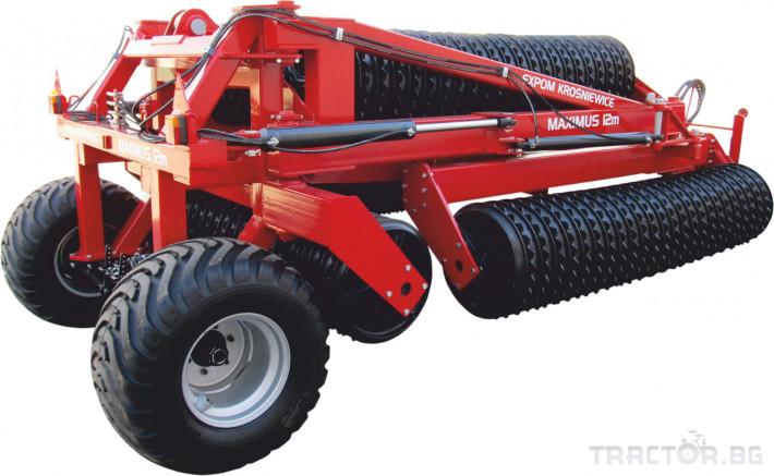 Валяци Expom  MAXIMUS 2 - Трактор БГ