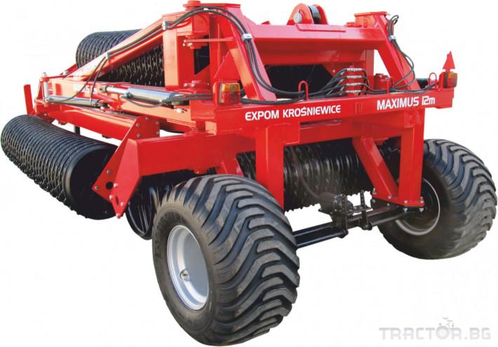Валяци Expom  MAXIMUS 3 - Трактор БГ