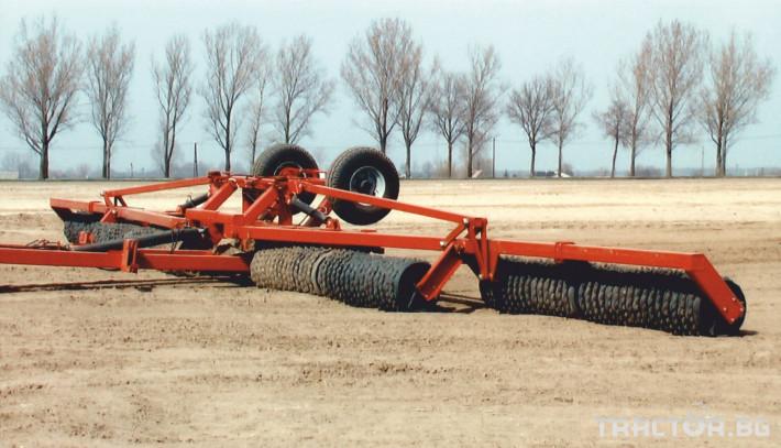 Валяци Expom  MAXIMUS 8 - Трактор БГ