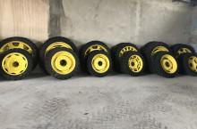 Тънки гуми с джанти