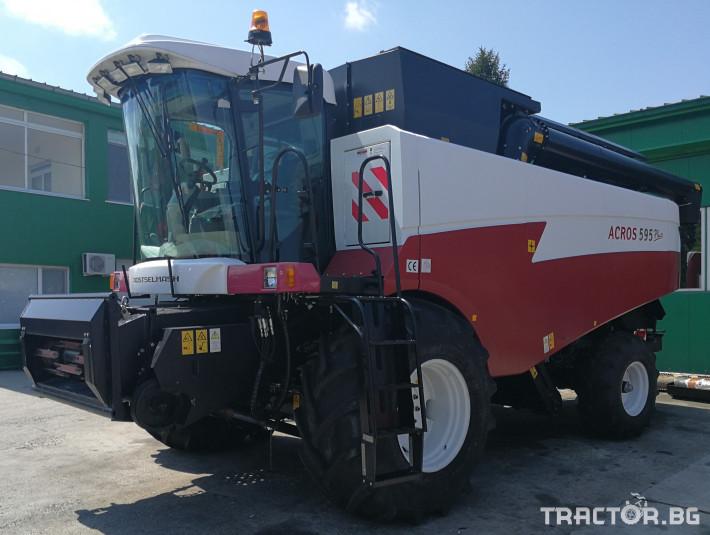 Комбайни Rostselmash ACROS 595 Plus 10 - Трактор БГ
