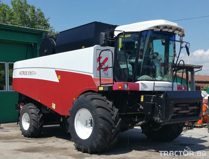 Комбайни Rostselmash ACROS 595 Plus 12 - Трактор БГ