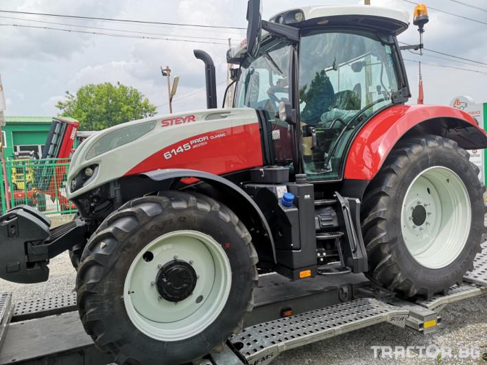 Трактори Steyr Profi 6145 Classic 7 - Трактор БГ