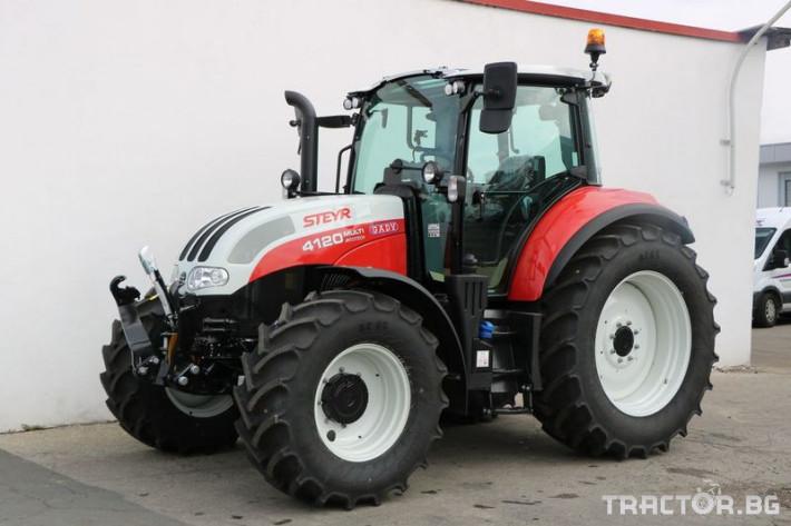 Трактори Steyr MULTI 4120 0