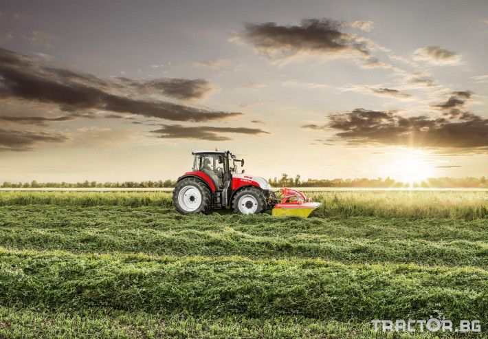 Трактори Steyr MULTI 4120 1