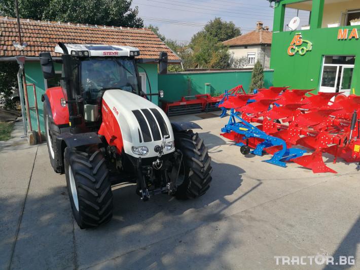 Трактори Steyr CVT 6200 3 - Трактор БГ