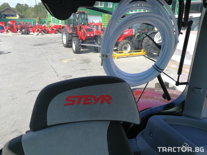 Трактори Steyr CVT 6200 9 - Трактор БГ