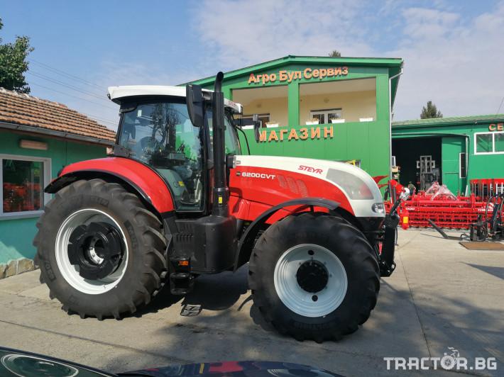 Трактори Steyr CVT 6200 0 - Трактор БГ