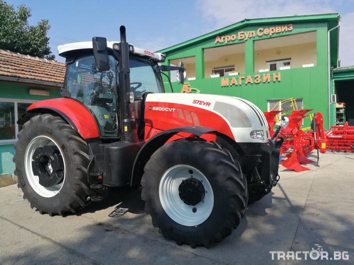 Трактори Steyr CVT 6200 1 - Трактор БГ