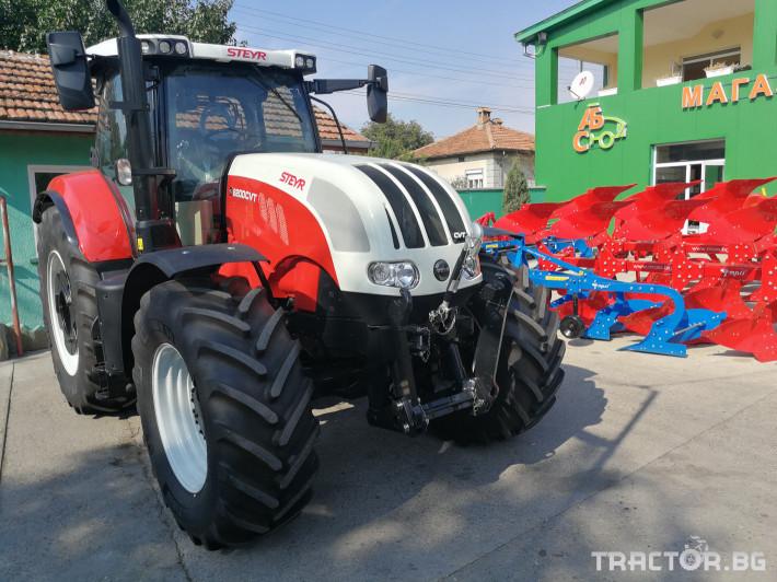 Трактори Steyr CVT 6200 2 - Трактор БГ