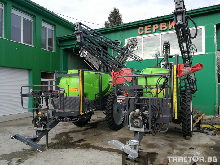 Пръскачки Agriuma AGRIUMA 2500 л. - 21 м. 3 - Трактор БГ